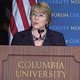 Bachelet at Columbia